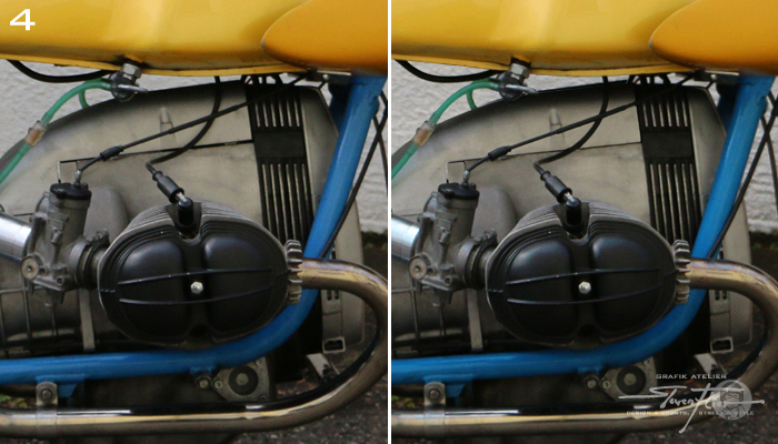 Virtual Tuning '78 BMW R100 Cafe Racer - Motorabdeckung / Engine Cover