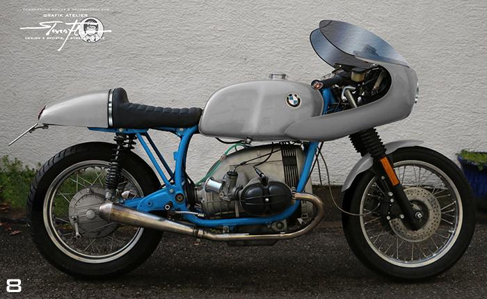Virtual Tuning '78 BMW R100 Cafe Racer - Uni Grau / Plain Grey