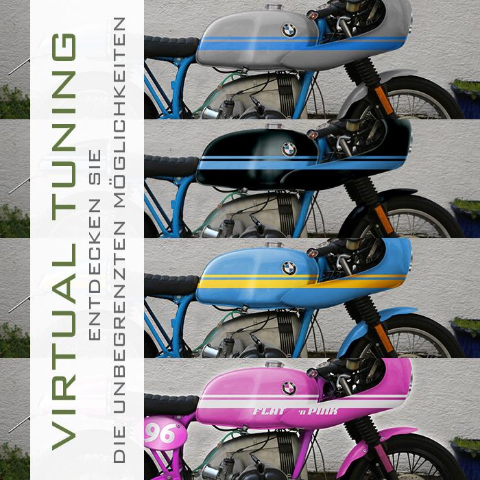 »Virtual Tuning« – Kosten und Nutzen am Beispiel eines BMW R100 Cafe Racer Projekts