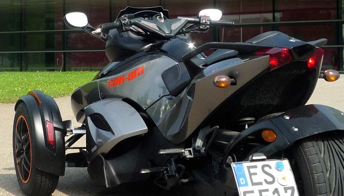Motor-Blog Steven Flier - Can-Am Spyder RS-S - Show ist gleich Komfortzone