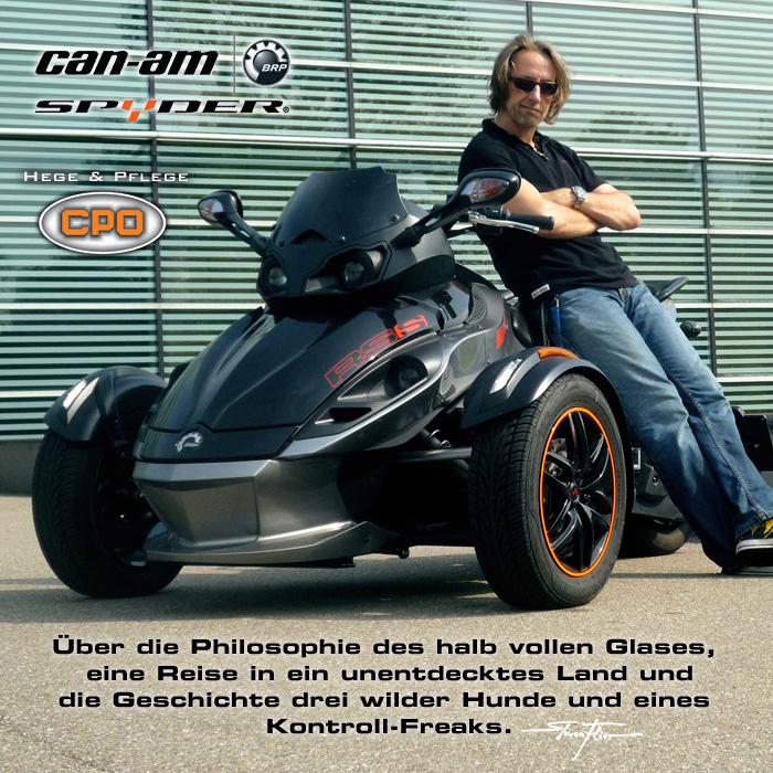 Fahrerlebnis-Bericht BRP Can-Am Spyder RS-S