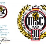 Logo Design »90th Anniversary« Motorsport Club Ludwigsburg