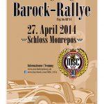 DIN Poster - 9. Ludwigsburger Barock-Rallye