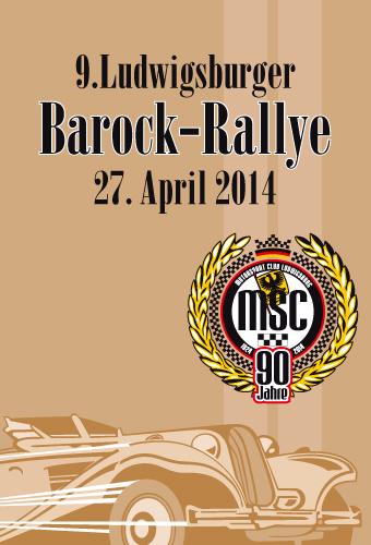 9. Ludwigsburger Barock-Rallye