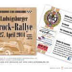 Flyer - 9. Ludwigsburger Barock-Rallye