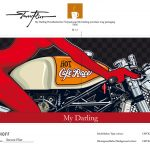 »My Darling« - full view of the package design presented to RITZENHOFF