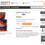 »My Darling« Cafe Racer PinUp cup in the RITZENHOFF online-shop