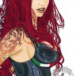 Official - Glemseck 101 PinUp - 2014 - Artwork - Detail