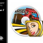 RITZENHOFF »My Little Darling« - Formular 1- PinUp Design by Steven Flier - Cup & Saucer / Front