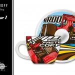 RITZENHOFF »My Little Darling« - Formular 1- PinUp Design by Steven Flier - Cup & Saucer / Back