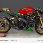 Virtual Tuning LLC Ducati 1200 S - Design Studie Mike Hailwood / Design Study Mike Hailwood