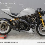Virtual Tuning LLC Ducati 1200 S - Vorarbeiten / Preliminary work