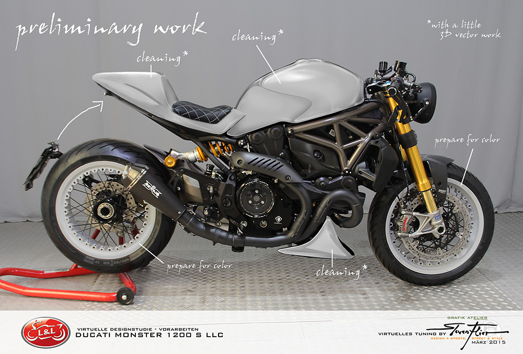 Virtual Tuning Ducati Xdiavel Hellboy – HD Wallpapers