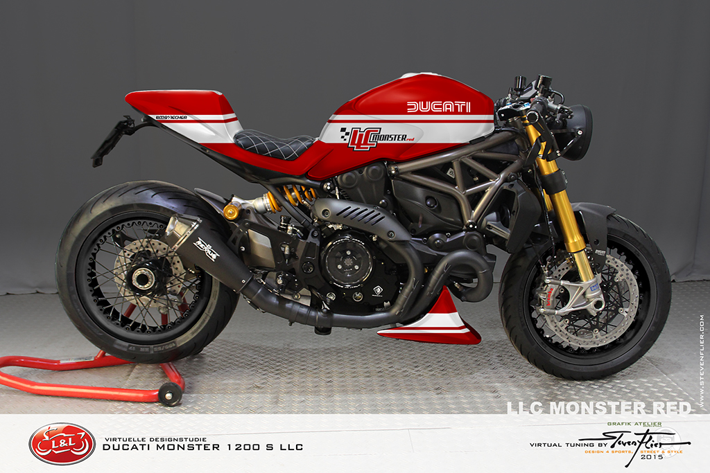 Ducati Monster  Cafe Style