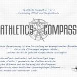 Logo Design Athletics Kompass - Entwicklung Teil 3