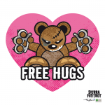 Steven Flier - Angry Teddy - Free Hugs -Valentine's Day Special!