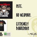 My very own Steven Flier - Angry Teddy - Krav Maga T-Shirt Design