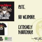 My very own Steven Flier - Angry Teddy - Krav Maga T-Shirt Design