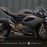 Virtual Tuning Ducati Panigale 1199 / 1299 - Heartbeat Grey - Client Limbächer
