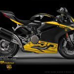 Virtual Tuning Ducati Panigale 959 - Side View - Client Limbächer