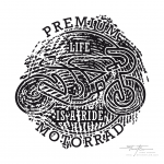 Logo Premiummotorrad - Black & White