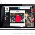 Roller & MotorradBox - Relaunch 2017 - Wespennest