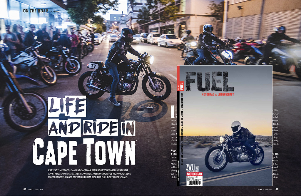 Life and ride in Cape Town