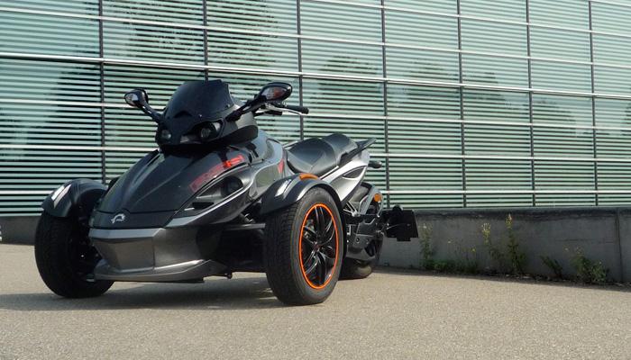Motor-Blog Steven Flier - Can-Am Spyder RS-S - Fahrerlebnis Bericht