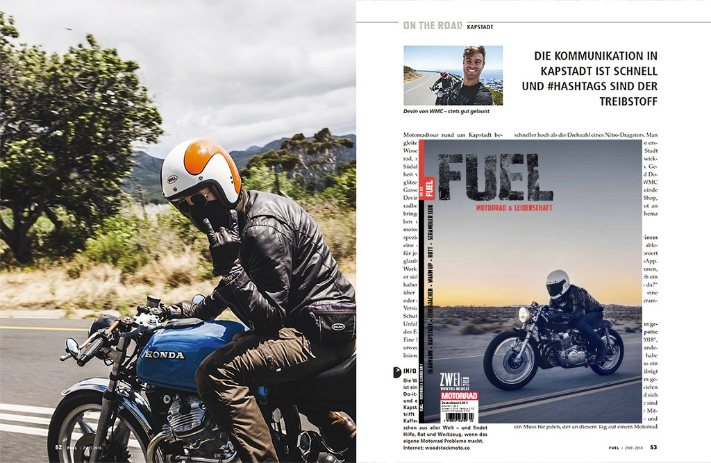"""Life and ride in Cape Town"" - FUEL No. 2 / 2018 - Page 52-53"